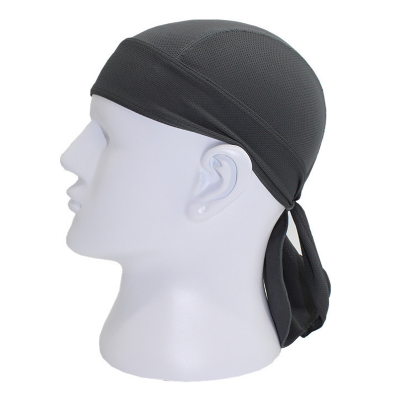 Sports soft equipment riding outdoor sports hat scarf breathable quick-drying sunscreen motorcycle cap color:gray