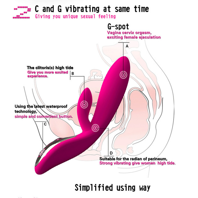 USB Charge Powerful Voice Dildo Vibrators For Women