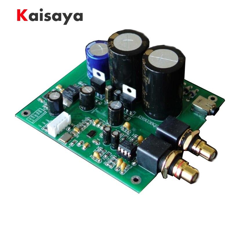 ES9038Q2M ES9038 I2S entrée décodeurs carte de décodage DAC carte de décodage pour amplificateur AMP