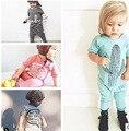 Mameluco Del Invierno Del bebé 2016 Niños Del Mono Del Bebé Del Muchacho Pijamas Jumpers Mamelucos Playsuit Mamelucos Conjuntos Ropa 0-24 M otoño
