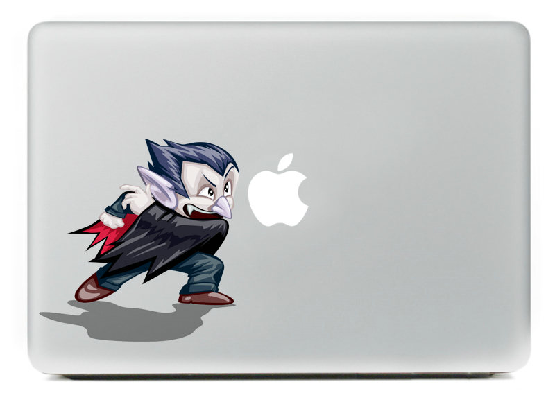angry Bat Fairy Vinyl Decal Sticker for DIY Macbook Pro / Air 11 13 15 Inch Laptop Case Cover Sticker