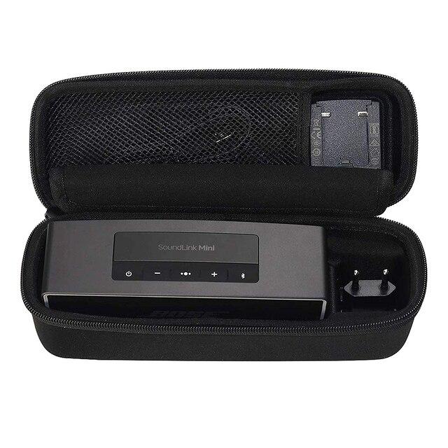 Caso duro Borsa Da Viaggio per Bose Soundlink Mini/Mini 2 Bluetooth Altoparlante Portatile Senza Fili Si Inserisce Il Caricatore Della Parete, base di Ricarica