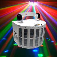 9 di colore di modo della discoteca del laser led luci della festa luce par della fase illuminazione della fase del laser effetto luce led dmx par con telecomando