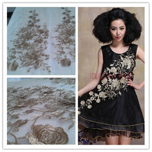 3D Gold Ribbon Water Solube Embroidered Fabric Material Tulle African Lace Applique For Sew Cloth Wedding Dress Accessories Diy 3d gold ribbon water solube embroidered fabric material tulle african lace applique for sew cloth wedding dress accessories diy