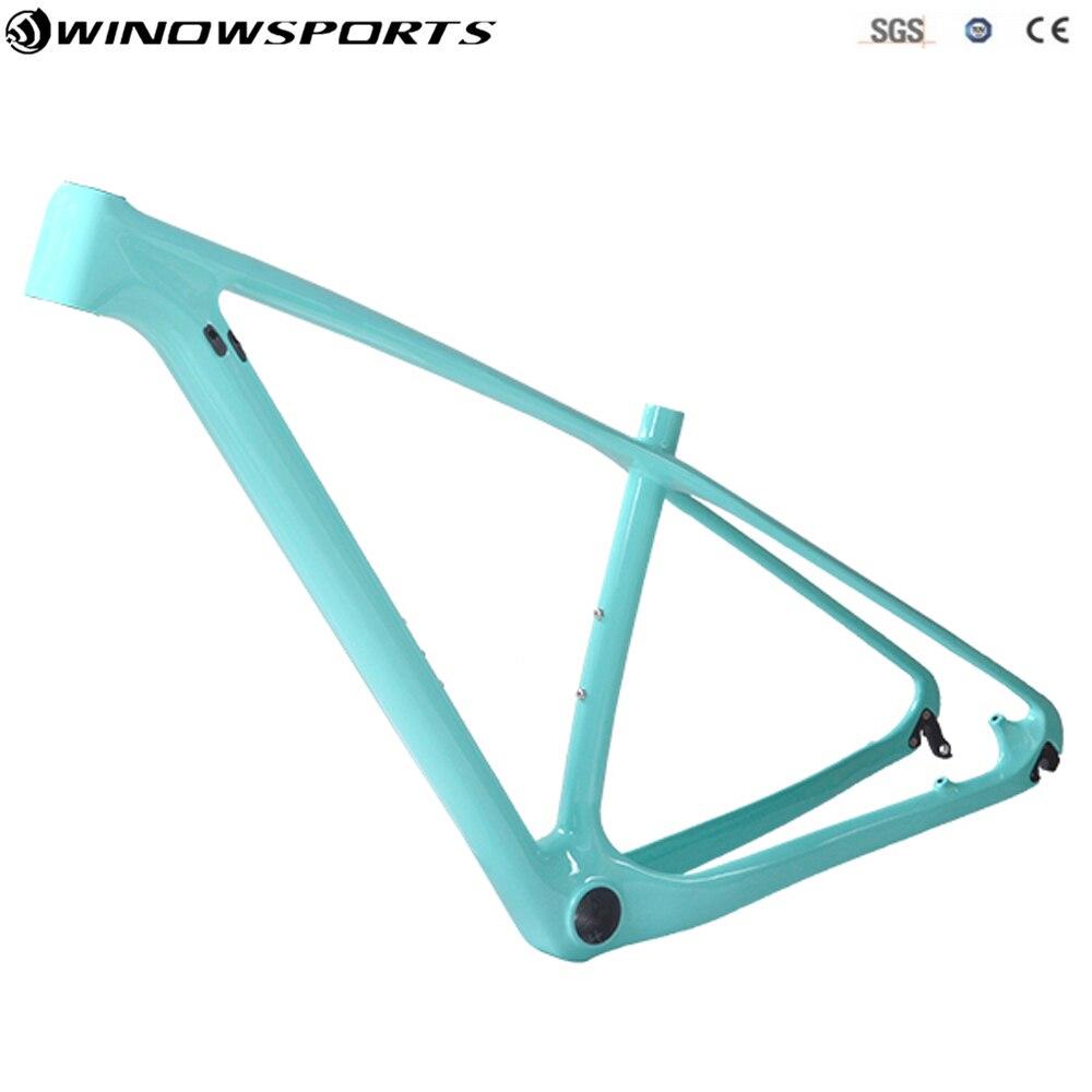 Plein carbone vtt cadres 29er VTT carbone cadres vtt carbone vélo cadre à travers l'essieu 142x12mm & 135x9mm chinois pas cher bicicleta