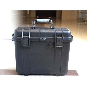 External 430*244*341mm waterproof dustproof plastic hardcase with uncut foam