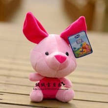 5 pieces Movie & TV small piglet  toy plush Eeyore piglet toys gift dolls about 18 cm