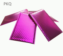 Bolsas envelopes bolha vermelha rosa, 30 peças 38x43cm grande rosa vermelha bolhas envelopes envio acolchoado envelope com bolha de papel de alumínio sacos de folha