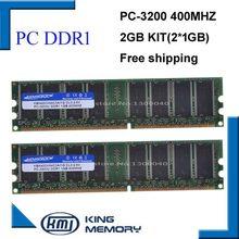 KEMBONA Лучшая цена настольный ddr1 400 МГц 2 Гб (комплект из 2x1 ГБ ddr1) Φ KBA400X64C3A/1 ГБ ОЗУ низкой плотности для всех настольных материнских плат