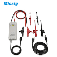 Micsig осциллограф 1300 В 100 мГц высокое Напряжение дифференциальный Пробник dp10013 комплект 3.5ns Время нарастания 50x/500x скорость затухания