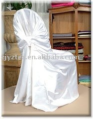 hot sale free shipping white self tie chair cover/pillowcase chair cover/wrap chair cover