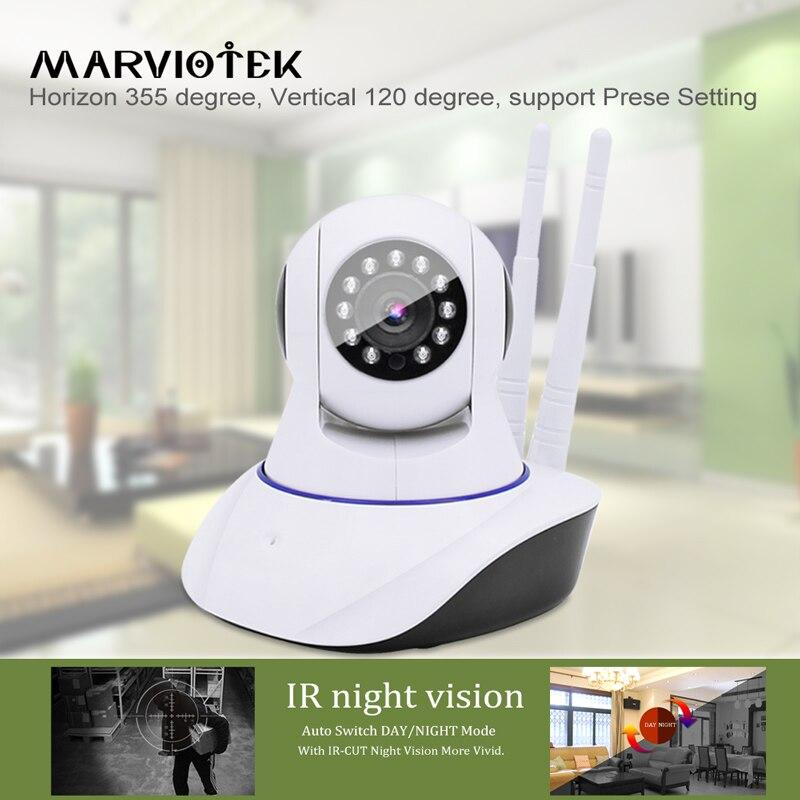 1080P HD IP Camera font b Wireless b font CCTV Camera Wifi IR Infrared Mini Webcam