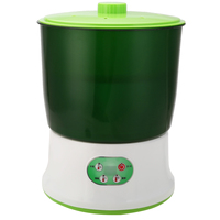 3 Layer Multifunctional Automatic Homemade Bean Seed Sprouts Machine Garden Pots Nursery Pots 220V 1.5L