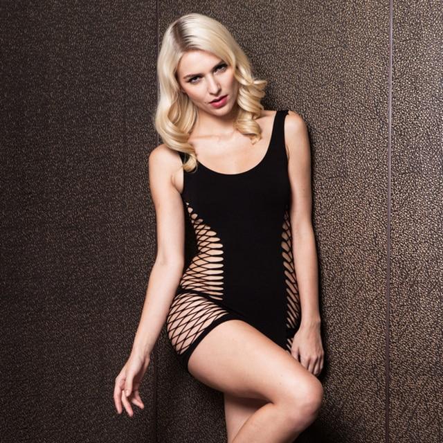 2017 Women Sexy Lingeries Underwear Ladies Fishnet Body Stocking Erotic Babydoll Lingeries