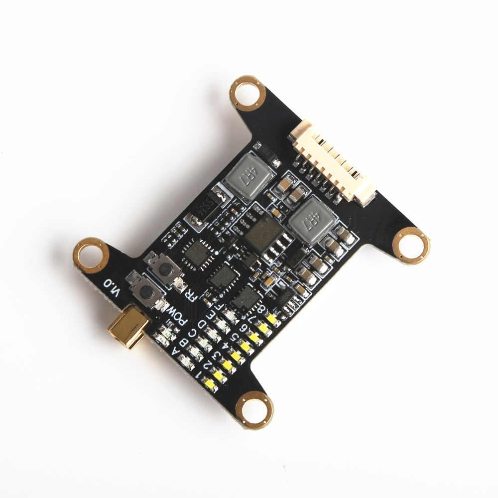 FLASH VTX5848 48CH 5.8G 25 mW/200 mW/600 mW transmetteur commutable TX avec contrôle PPM/SBUS/DSM2 pour Drone de course RC FPV quadrirotor
