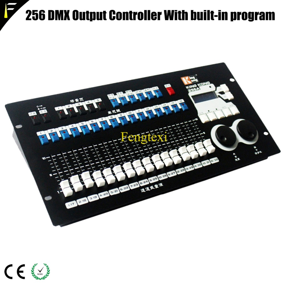 KingKong DMX Controller with graph Built in Program 256 Channels Light Console Lighting Effect Switcher English OperationKingKong DMX Controller with graph Built in Program 256 Channels Light Console Lighting Effect Switcher English Operation
