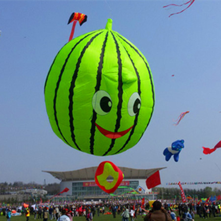 free shipping high quality large watermelon kite soft kite nylon fabric pendant kite string windsock cerf volant factory pilot free shipping high quality 27m large snake kite fabric kite bar line ripstop nylon kite bird windsock kites for adults buggy