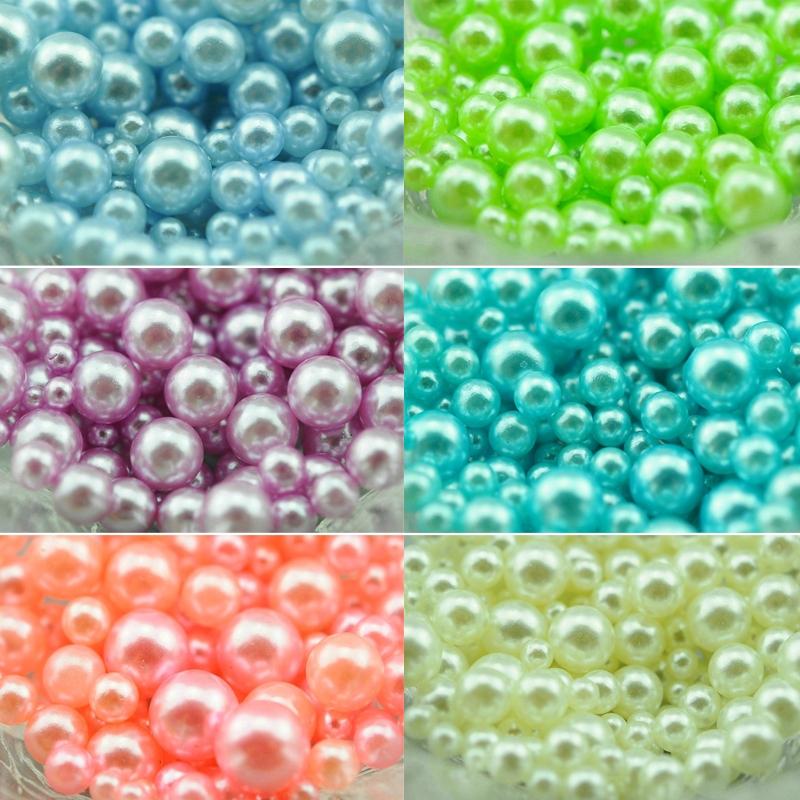 Beautiful Imitation Pearls Material Epoxy For Mold Making Jewelry Filling DIY Charm t44