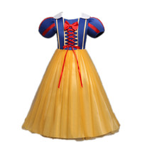 SFL 002 Girls Princess Summer Dresses Children Snow white Princess Party Dress