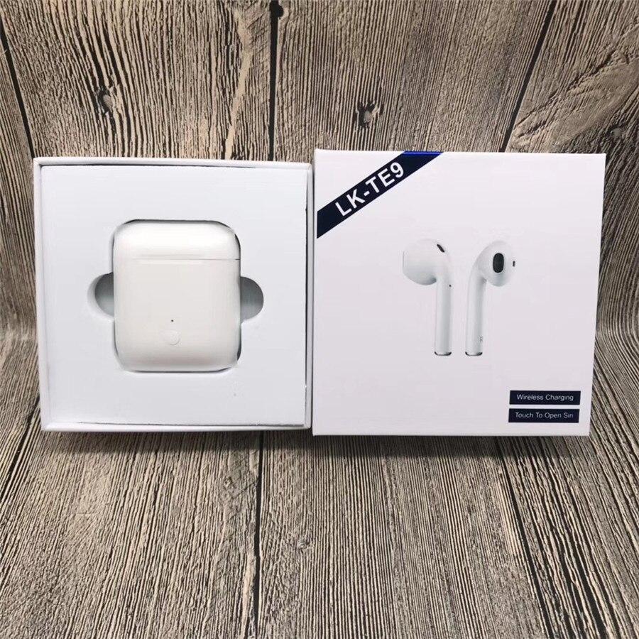 LK-TE9 LK TE9 tactile Type sans fil Bluetooth Binaural appels intelligents écouteurs sans fil charge Bluetooth 5.0 - 2