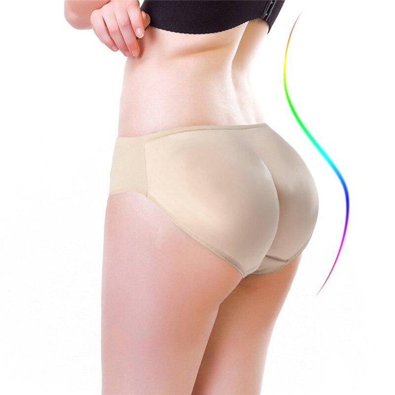 NINGMI Hot Shaper Boyshort Push Up Control Panties Women Big Ass Underwear  Fake Butt Pad Waist Trainer Butt Lifter Hip Enhancers