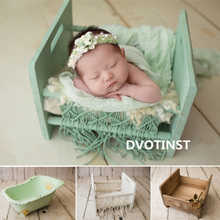 Dvotinst Newborn Photography Props Baby Retro Posing Bed Basket Bathtub Cribs Fotografia Accessories Studio Shoots Photo Prop - DISCOUNT ITEM  34% OFF All Category