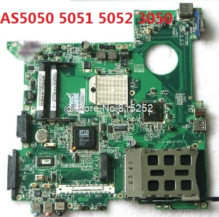 Laptop Motherboard For ACER AS5050 5051 5052 3050 Tested By System Lap Connect Board Used 90% New купить
