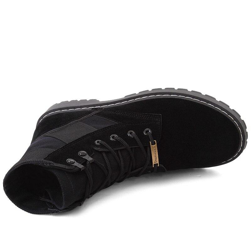 Haute Automne Martin Coréenne Sauvage Marée Desert Hommes Et Outillage Pour Aider cut D'hiver Bottes Version De Black 02 Boot Haute Beige Neige La 01 nZZ8qOzX