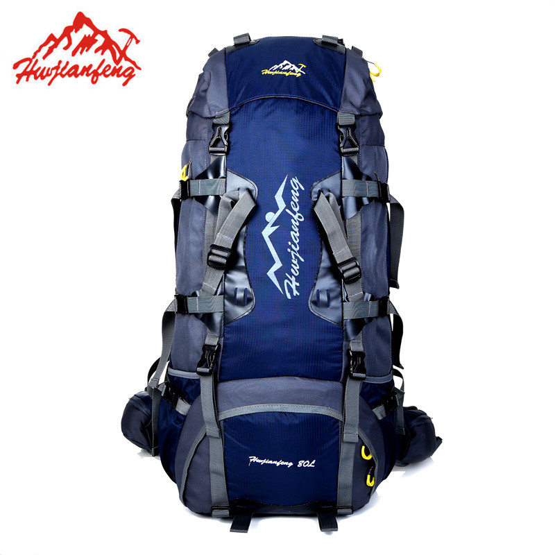80L Large Outdoor backpack Camping Travel Bag Hiking Backpack Unisex Rucksacks Waterproof sport bags Climbing package цены онлайн