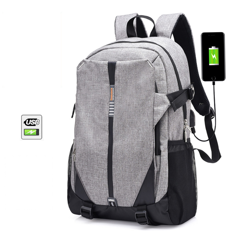 Casual Fashion Computer Laptop USB Charging Backpack Men&Female Bag Business Backpack Male Unisex Waterproof Travel Backpack men s backpack anti theft usb charging travel backpack waterproof nylon unisex school bags for female laptop business backpack