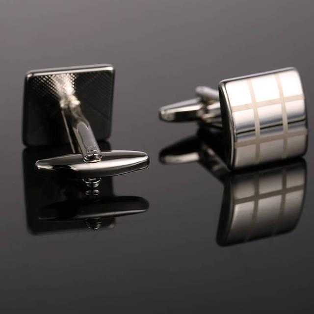 Vagula Cufflinks French Shirt Cuff Links Brass Laser Gemelos 10166