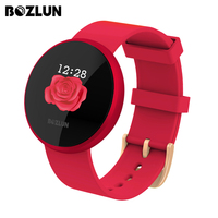 Bozlun B36 Sports Women Watch Digital Watch Smart Bracelet Women's Period Remind HeartRate Waterproof Watch 2019 Colorful Watch