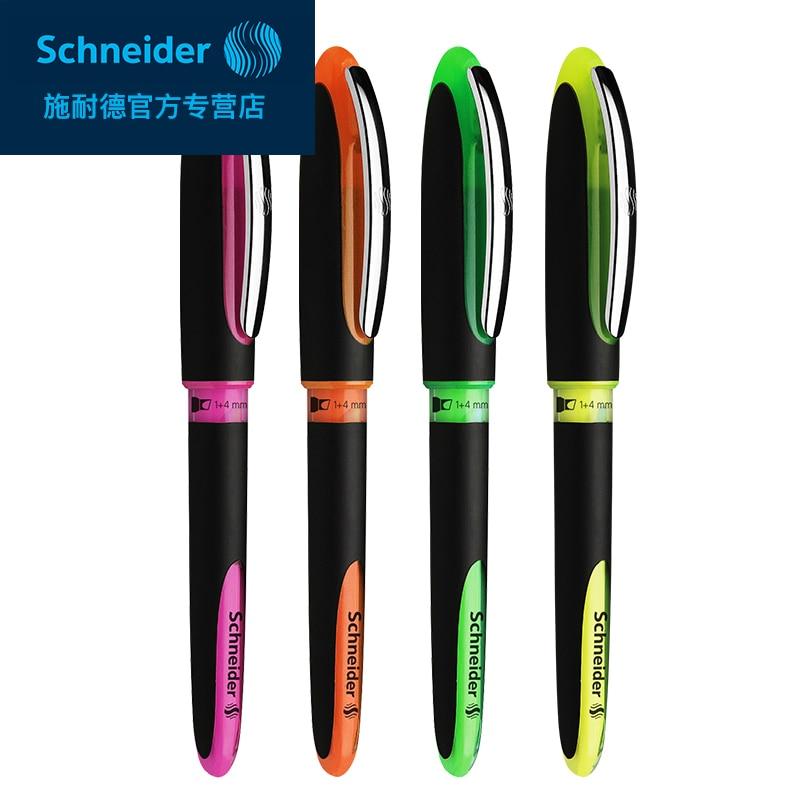 Germany SCHNEIDER Interplanetary ONE Highlighter Marker Pen High Capacity Highlighter Student Business Office 1PCS