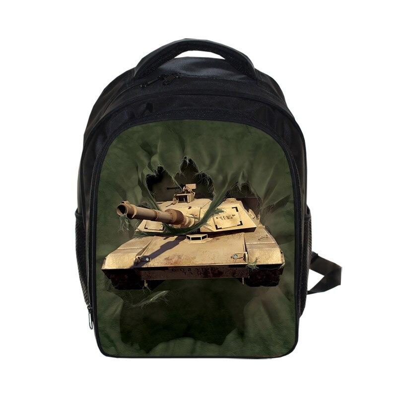 Cool Wars Rugzak Vliegdekschip Bag Kids School Tassen Voor Jongens Meisjes Rugzakken Kinderen Tank Helikopter Rugzak Mochila