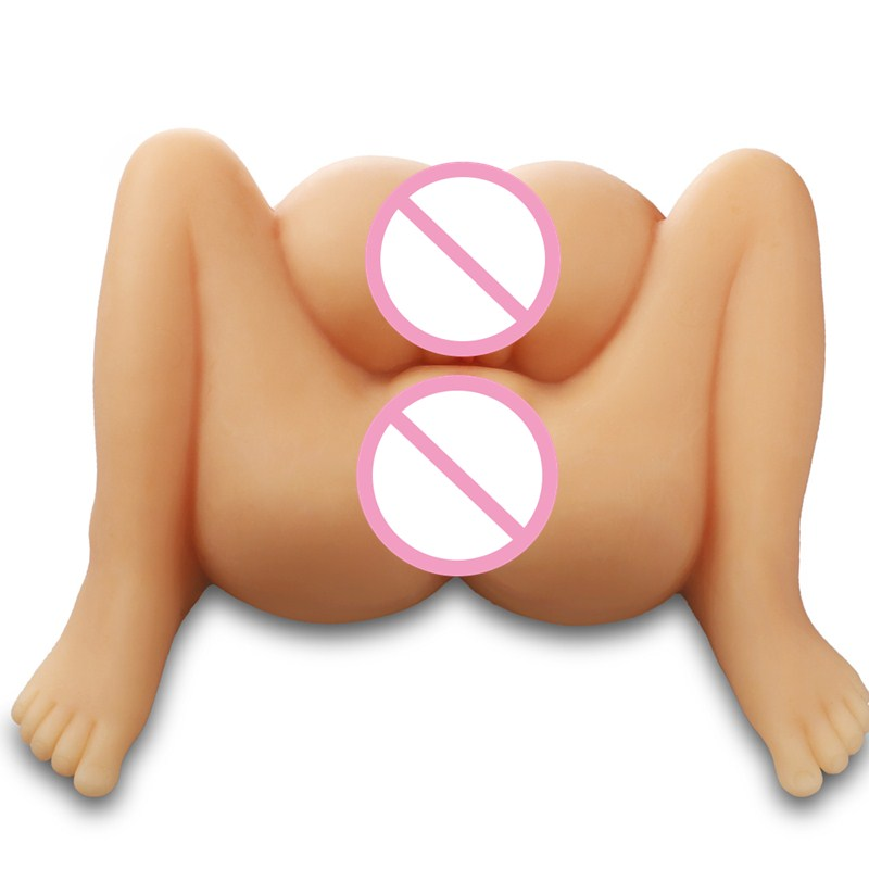 Online Shopping India Silicone Sex Dolls Double Ass Tpe Lifelike Anal Doll Realistic Vagina Real Pussy Male Masturbator Big 2018 new double channel realistic vagina