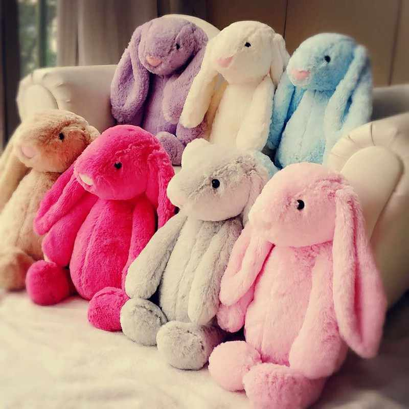 Easter 8 Colour 17cm 28cm Cute soft plush Rabbit Bunny Weding Party  Birthday Children's Day Gift Christmas toy