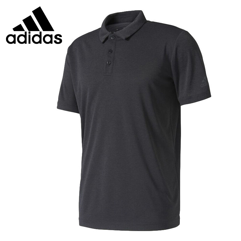 Original New Arrival <font><b>Adidas</b></font> <font><b>Men's</b></font> POLO Training shirt short sleeve Sportswear image