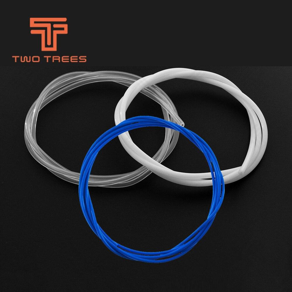 PTFE Teflon manguera d 4 x 3 mm Tube 3d presión RepRap CNC