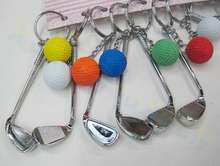 400 шт сумка для гольфа украшения пластиковые мини кулон шар