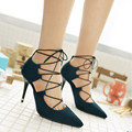 hot sale sexy open toe women sandals gladiator lace up high heels sandal boots stiletto heels strappy pumps summer shoes woman