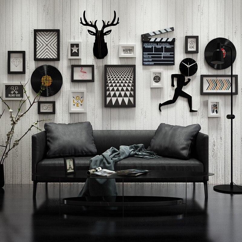Скандинавское украшение для стен, гостиная, фоторамка, простая креативная фоторамка, комбинированное украшение для стен