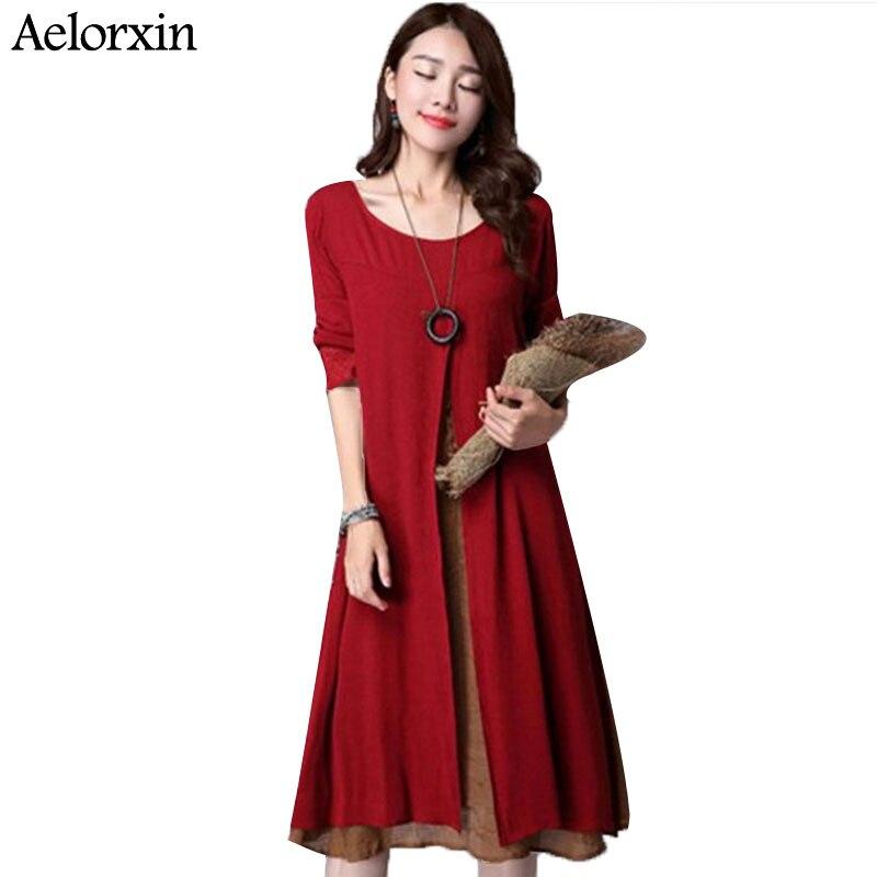2017 nova jesenska korejska žena velike veličine lažna dva - Ženska odjeća - Foto 1