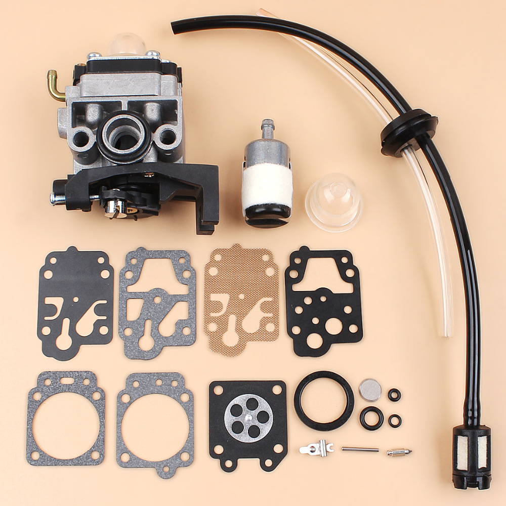 Carburetor Carb Rebuild Repair Kit For HONDA GX35 GX 35 HHT35 HHT35S Gas Trimmer Brushcutter Strimmer Generator 16100-Z0Z-034 2016 new carburetor carb rebuild repair kit k10 wyb for srm 260 srm 261 trimmer replacement k20 wyj type