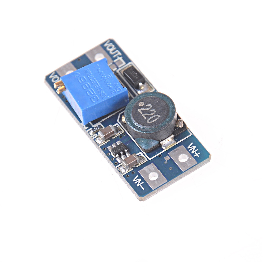 1pcs 2V - 24V to 5V 9V 12V 28V 2A Adjustable Step Up Module MT3608 DC-DC Boost Module Boost Converter Power Supply Module image