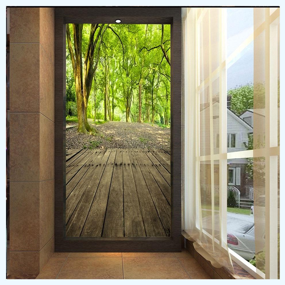 Online buy wholesale 3d floor wallpaper from china 3d for Buy mural wallpaper