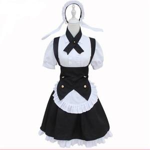 Brdwn é o pedido um coelho? Vá chuumon wa usagi desuka maravilhoso partywomens syaro kirima maid cosplay traje avental vestido