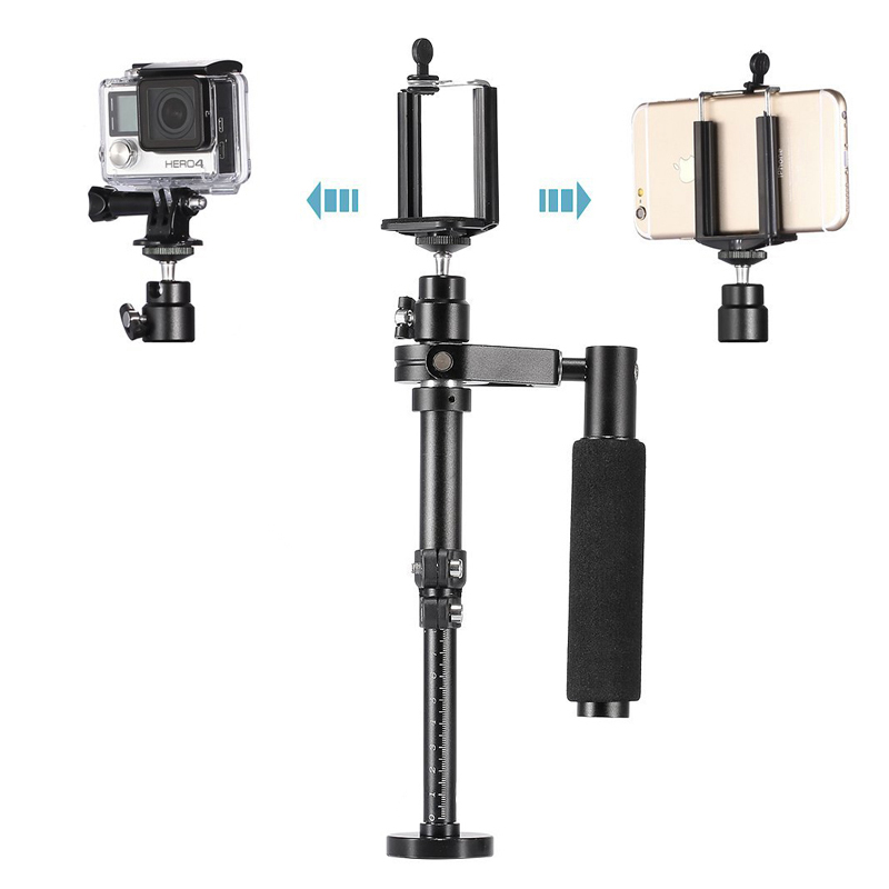 Lightdow Handheld Portable Adjustable Length Video Shooting Stabilizer for SJCAM Gopro font b Action b font