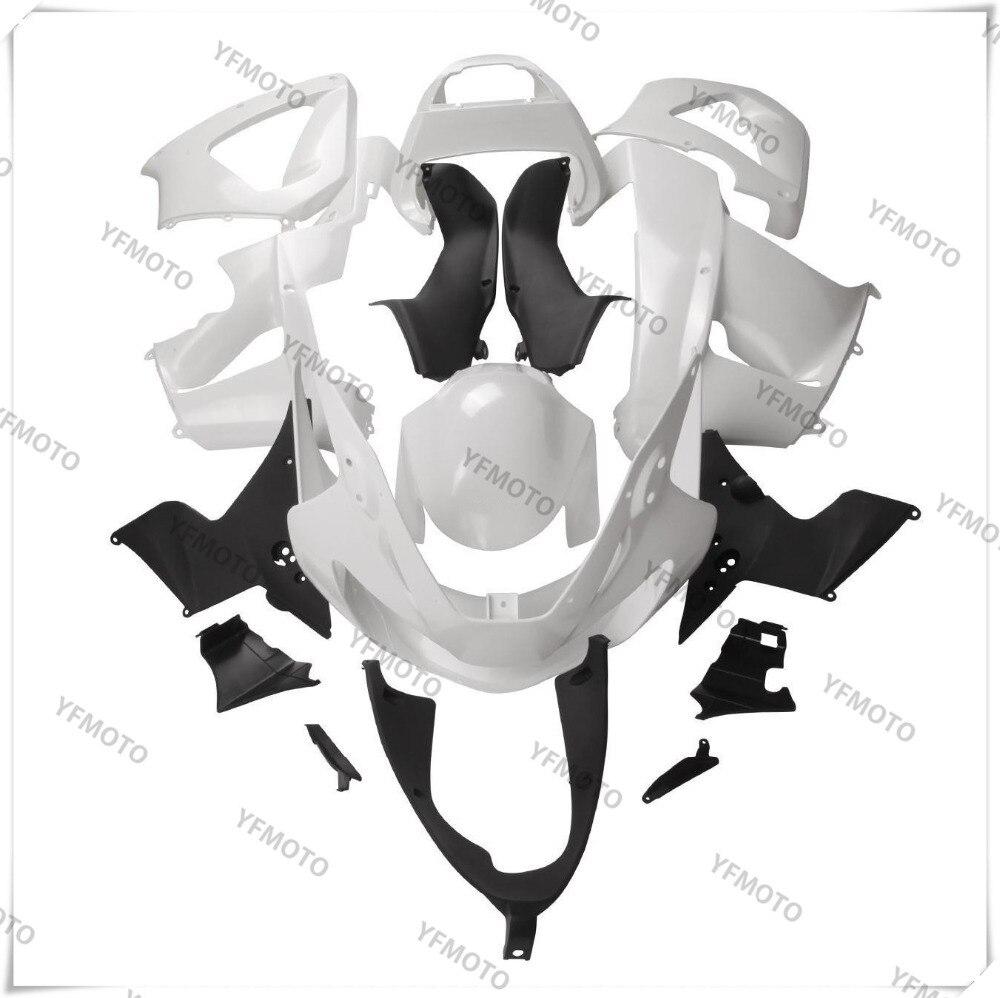 Motorcycle White Unpainted Fairing Body Work Cowling For HONDA CBR900RR CBR 900RR CBR929RR CBR 929RR 2000-2001 +3 Gift