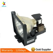 Compatible Projector lamp bulb  LV-LP02  with housing for   CANON LV-5500/7500