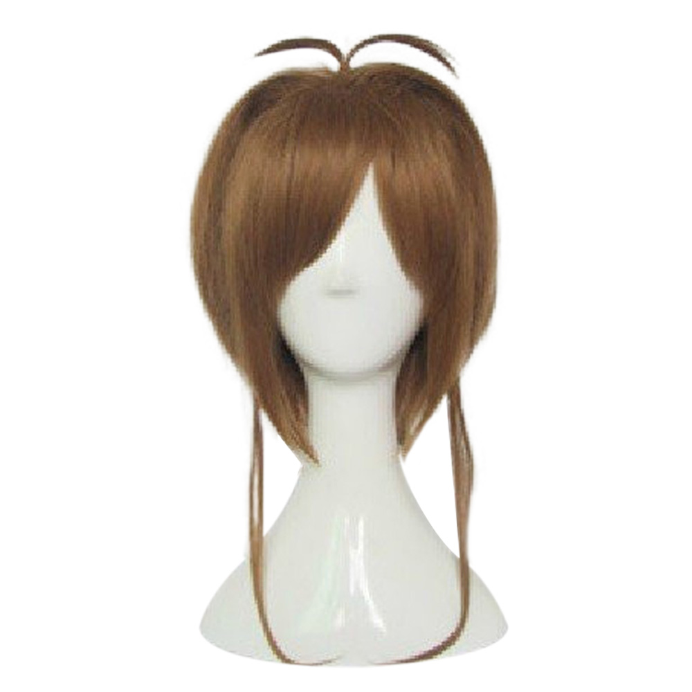 HAIRJOY Synthetic Hair Card Captor Sakura Cosplay Wig Costume Party Wigs Free Shipping 8
